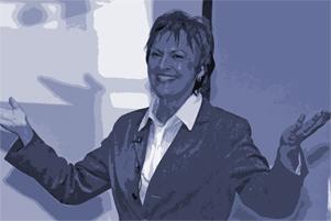 Anne M. Schüller beim Vortrag Mitarbeiterführung