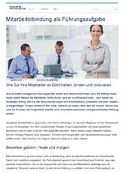 Fachartikel Wirtschaft und Management Mitarbeiterbindung als Führungsaufgabe