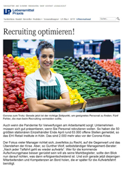 Fachartikel Recruiting optimieren