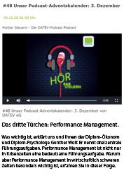 Performance Management in der Krise